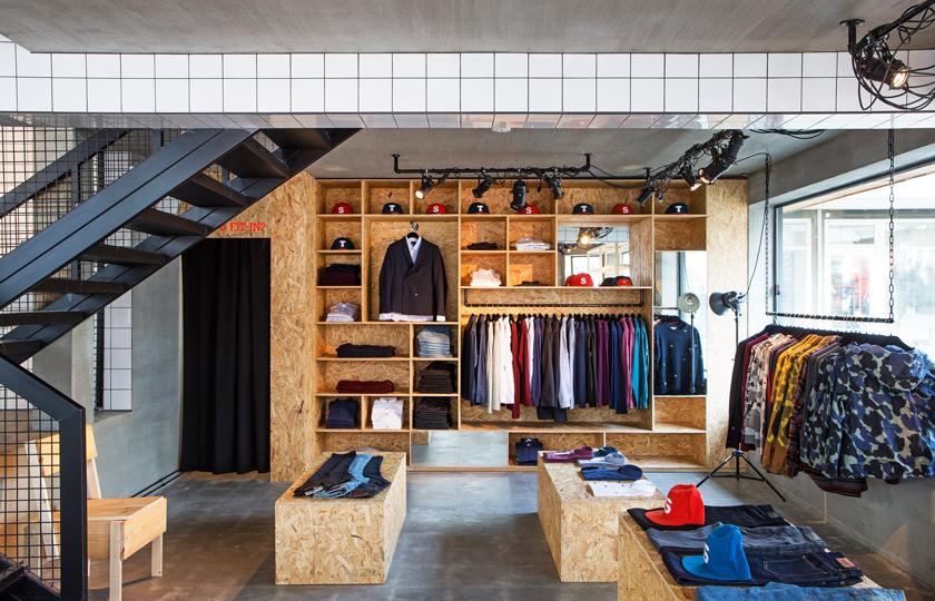 Voyeurdesign suit en estado puro con hafstudio for Diseno de interiores almacenes de ropa