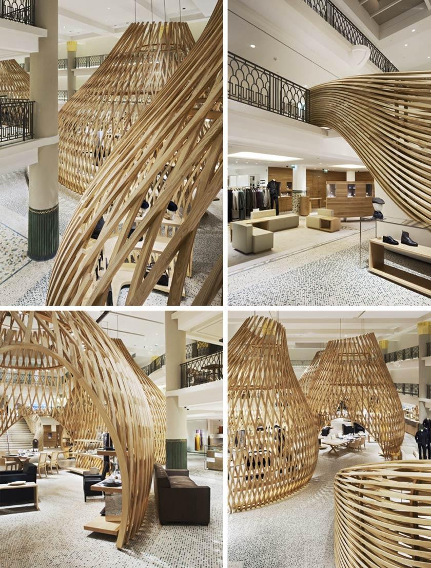 voyeurdesign boutique de herm s en hotel lutetia de par s. Black Bedroom Furniture Sets. Home Design Ideas