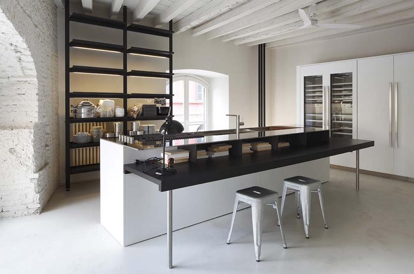 Voyeurdesign las cocinas top de dise o contempor neo for Boffi cucine milano