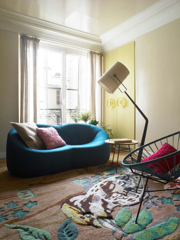 Voyeurdesign El Estudio Uda Proyecta Un Apartamento Parisino Con  # Muebles Cuento De Hadas