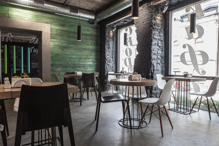 Voyeurdesign restaurante fresh natural como la vida misma