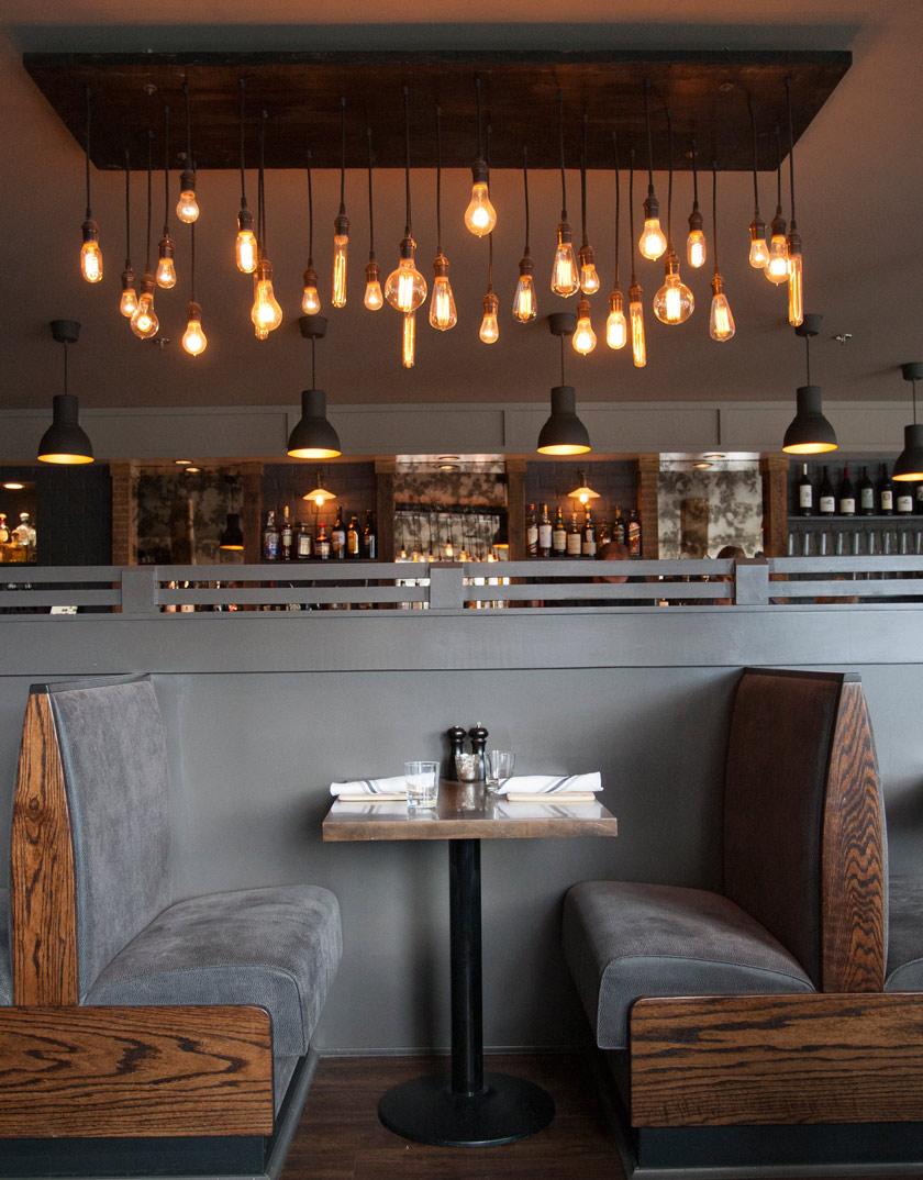 Voyeurdesign un poco de ciudad en el campo plate restaurant - Iluminacion estilo industrial ...