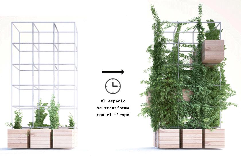 Voyeurdesign penda proporciona un oasis verde dentro for Estructuras para viveros plantas