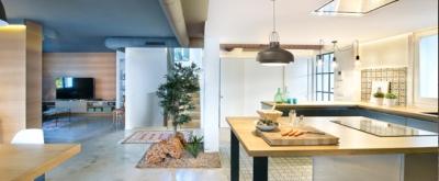 Amplitud visual en una vivienda unifamiliar en Benicassim