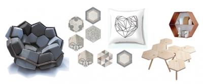 Estilo de... Hexágonos - geometría decorativa